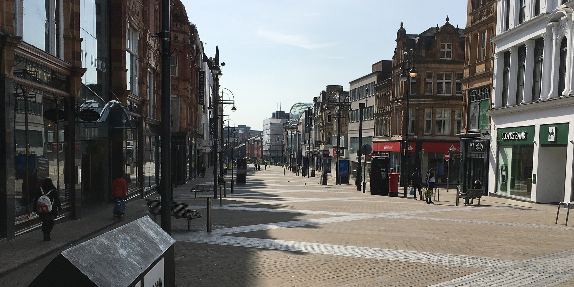 Photo: Briggate, March 2020