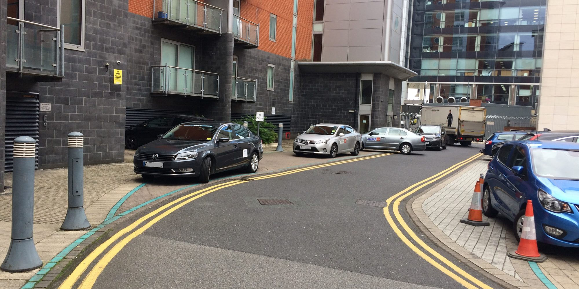Photo: private hire vehicles