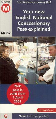 Image: Senior Permits leaflet